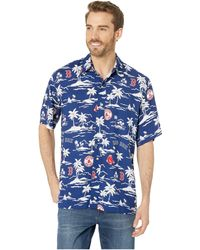 98b3018be Reyn Spooner Hou Pua Nui Tailored Hawaiian Shirt (ink) Clothing in Blue for  Men - Save 31% - Lyst