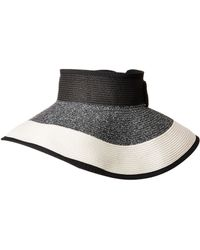 San Diego Hat Company - Ubv038 Roll Up Visor With Bow Closure - Lyst