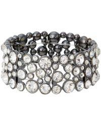 Guess - Bracelet 179632-21 (hematite/crystal) Bracelet - Lyst