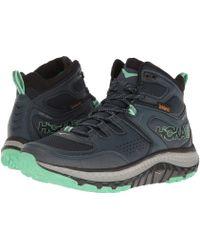 Hoka One One - Tor Tech Mid Wp (midnight Navy/spring Bud) Women's Shoes - Lyst