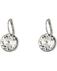 Swarovski - Bella Pierced Earrings (white) Earring - Lyst