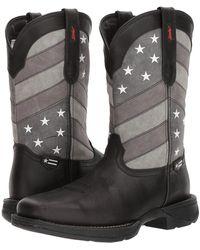 Durango - Rebel 12 Flag (black/charcoal/grey) Cowboy Boots - Lyst