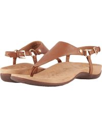 Vionic - Kirra (brown) Women's Sandals - Lyst