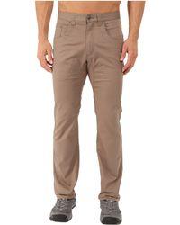Mountain Khakis - Camber Commuter Pants (slate) Men's Casual Pants - Lyst