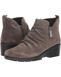 The Flexx - Sling Shot (fango Suede) Women's Shoes - Lyst