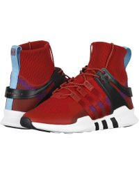 d4f158b16e70 Lyst - Adidas Seeulater Primeknit Winter Shoes in Red for Men