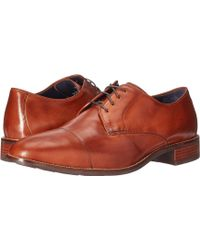 Cole Haan - Lenox Hill Cap Ox (british Tan) Men's Lace Up Casual Shoes - Lyst