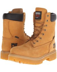 Timberland - Direct Attach 8 Steel Toe (wheat Nubuck Leather) Men's Work Lace-up Boots - Lyst