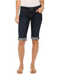 Hudson Jeans - Palerme Knee Shorts In Elemental - Lyst