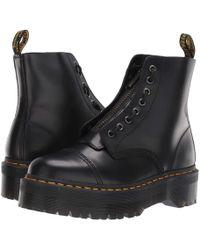 8e286251ab10 Dr. Martens - Sinclair Quad Retro (black) Women s Boots - Lyst