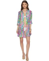 Lilly Pulitzer - Natalie Cover-up - Lyst