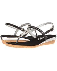 Onex - Rolo (black) Women's Sandals - Lyst