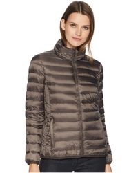 Tumi - Clairmont Packable Travel Puffer Jacket (black) Women's Coat - Lyst