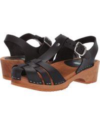 c54448e9a89 MIA - Emilly (black) Women s Clog Shoes - Lyst