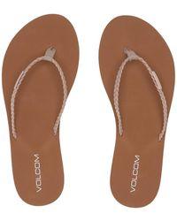 Volcom - Weekender Sandals (cognac) Women's Sandals - Lyst
