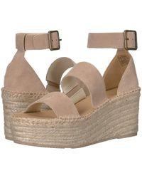4fca59339d4 Soludos - Palma Platform Sandal (blush) Women s Shoes - Lyst