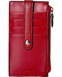 "Lodis - Audrey 5"" Credit Card Case W/zipper Pocket - Lyst"