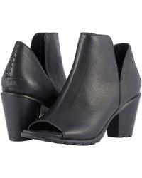 Sorel - Nadia Bootie (black) Women's Boots - Lyst