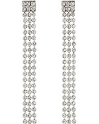 Swarovski - Long Fit Refresh Pierced Earrings - Lyst