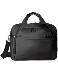 Samsonite - Pro 4 Dlx 15.6 Laptop Two Gusset Brief (black) Briefcase Bags - Lyst