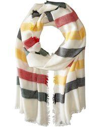 Pendleton - Stripe Featherweight Wool Scarf - Lyst