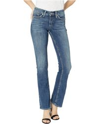 131a6412 Silver Jeans Co. Suki Mid Rise Slim Bootcut Jeans in Blue - Lyst