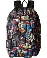 Madpax - Spiderman All Over Print Backpack - Lyst