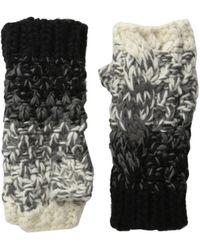Michael Stars - Seeded Ombre Fingerless Gloves - Lyst