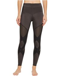 CW-X - Stabilyxtm Ventilator Tights (charcoal/black Stitch) Women's Workout - Lyst