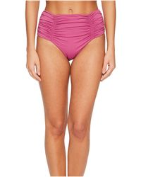 Seafolly   Gathered Front Retro Pants   Lyst