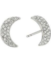 Fossil - Glitz Moon Earrings Jackets - Lyst