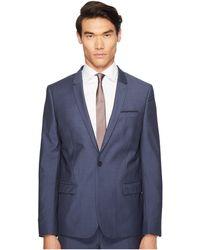 The Kooples - Blue Suit Jacket End-on-end - Lyst