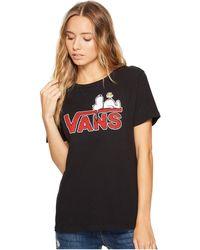 Vans - Sleeping Snoopy Basic Crew - Lyst