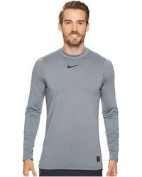 Nike | Pro Warm Mock Top | Lyst