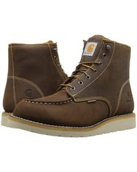 a3c89e333ff4 Carhartt - 6 Waterproof Wedge Boot (brown Oil Tanned Leather) Men s Lace-up