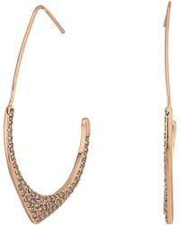 Rebecca Minkoff - Alexandria Large Hoop Earrings - Lyst