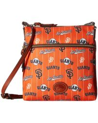 Dooney & Bourke - Mlb Crossbody Bag (giants) Cross Body Handbags - Lyst