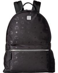 e2d378eaab6 MCM - Dieter Monogrammed Nylon Medium Backpack (black) Backpack Bags - Lyst