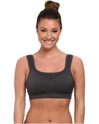 90b7a49184 Jockey Active - Hi-impact Seamless Sports Bra (iron Grey) Women s Bra -