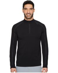 tasc Performance - Carrollton 1/4 Zip (heather Gray/pale Gray) Men's Long Sleeve Pullover - Lyst