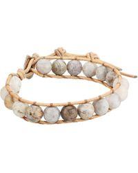 Chan Luu - Single Wrap Bracelet (african Opal) Bracelet - Lyst