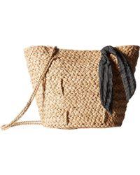 Hat Attack - Brunch Bag W/ Tie Knot Trim - Lyst