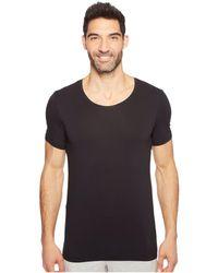 Hanro - Cotton Superior Short Sleeve Crew Neck Shirt (white) Men's T Shirt - Lyst