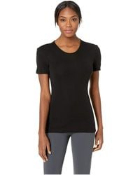 Icebreaker - 175 Everyday Merino Baselayer Short Sleeve Crewe (black) Women's Clothing - Lyst