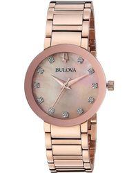 Bulova - Modern - 97p132 (rose) Watches - Lyst