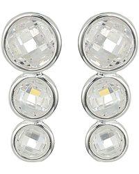 Lauren by Ralph Lauren - Cubic Zirconia Crawler Earrings (silver) Earring - Lyst