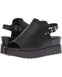 Steven by Steve Madden - Nc-kalo (black Leather) Women's Shoes - Lyst