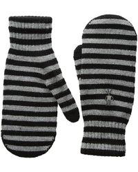 Smartwool | Striped Knit Mitt | Lyst
