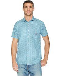 Psycho Bunny - Short Sleeve Floral Vine Woven Shirt (heron) Men's Clothing - Lyst
