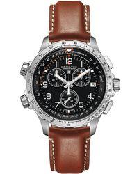 Hamilton - Khaki X-wind Gmt - H77912535 (black) Watches - Lyst